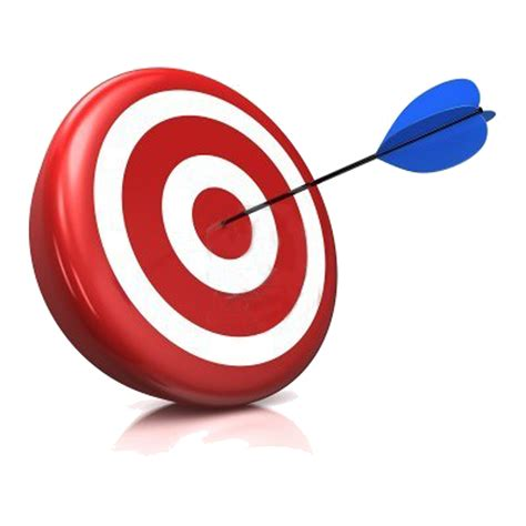 Clip On L Target by Learning Outcomes Clipart 64