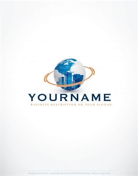 free logo design urban exclusive design urban globe logo compatible free