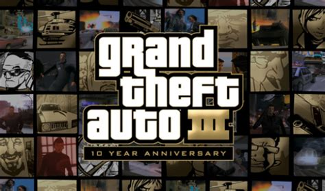 gta 10th anniversary apk grand theft auto iii 10 year anniversary trailer next gaming blognext gaming