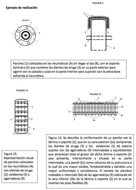 cadenas coche velcro sistema de cadenas para veh 205 culos patente en venta