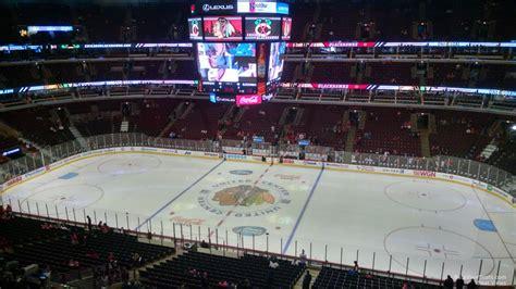 united center section  chicago blackhawks