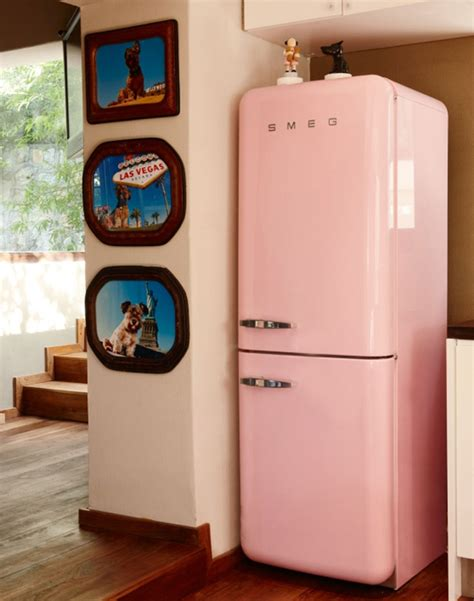 Get That Designer Fridge Look For A Tenner by 10 Of The Most Colorful Smeg Refrigerator Designs Housely