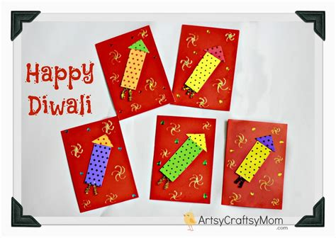 diwali cards for to make happy diwali greeting card for artsy craftsy