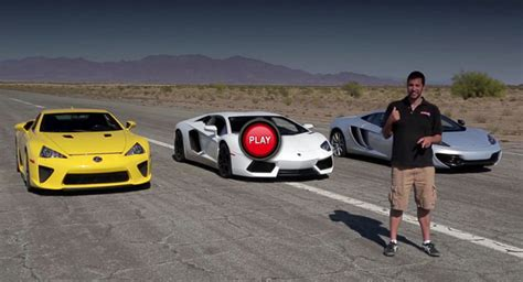 Video: Quarter Mile Matchup with Bugatti Veyron