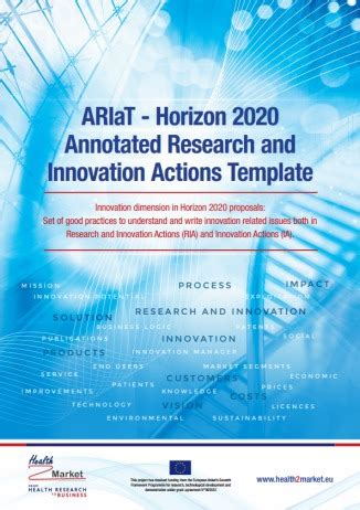 Horizon 2020 Template Results Of The H2m Project Health2market