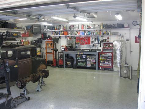 Mechanics Garage by Getting The Most From A 2 Car Garage On A Budget The