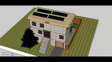 google sketchup layout youtube janice s sustainable house design on google sketchup youtube