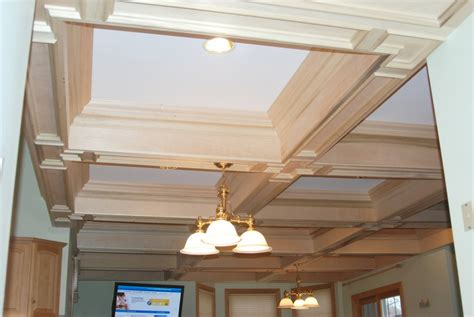 coffered ceiling lighting coffered ceiling construction lighting ideas coffered