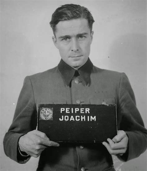world war ii in pictures joachim peiper ruthless waffen