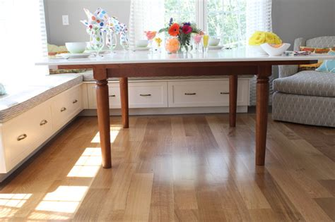 built in benches in kitchen breakfast built in bench traditional kitchen boston