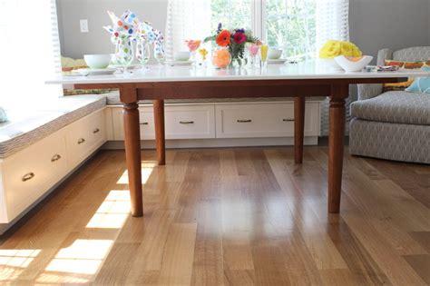 built in bench in kitchen breakfast built in bench traditional kitchen boston by eileen kollias design