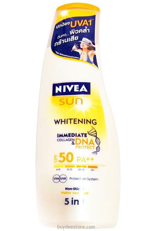 Harga Nivea Sun Whitening Sun Protection nivea sun whitening immediate collagen dna protect spf50