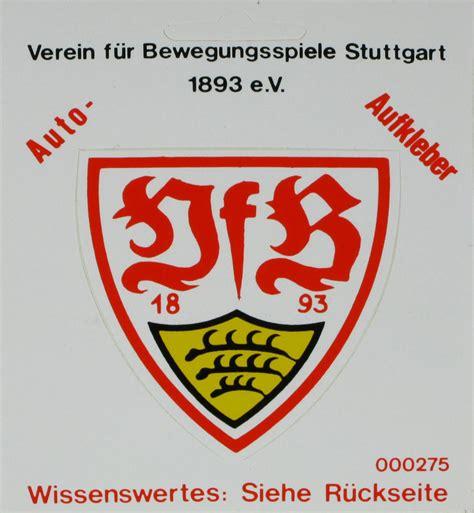 Vfb Autoaufkleber by Vfb Stuttgart Zvab