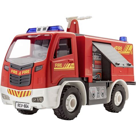 Auto Als Bausatz by Revell 00804 Junior Kit Feuerwehr Auto Bausatz Automodell