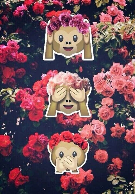 wallpaper emoji monkey pinterest the world s catalog of ideas