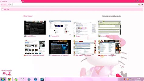 hello kitty laptop themes for windows 7 hello kitty laptop theme windows 7 64 bit
