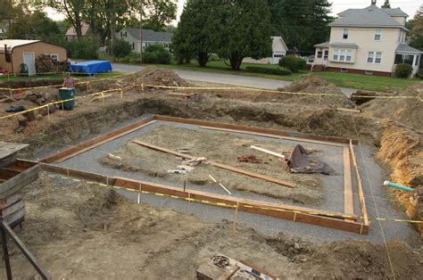 Garage Pit Design house footing forms day 1 design amp construction of