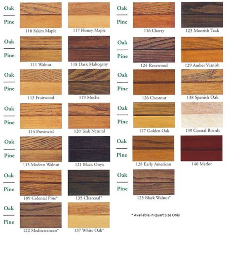 wood furniture colors chart pinterest the world s catalog of ideas