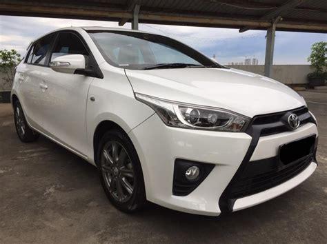 2015 Toyota Yaris G A T toyota yaris g a t 2014 warna putih mobilbekas