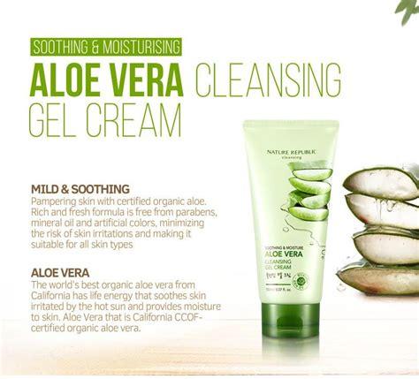 soothing moisture aloe vera cleansing gel foam