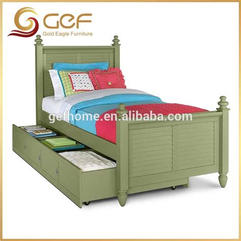 Childrens Bed With Drawers by Bed With Trundle Drawers And Storage Gef Kb 20 Buy