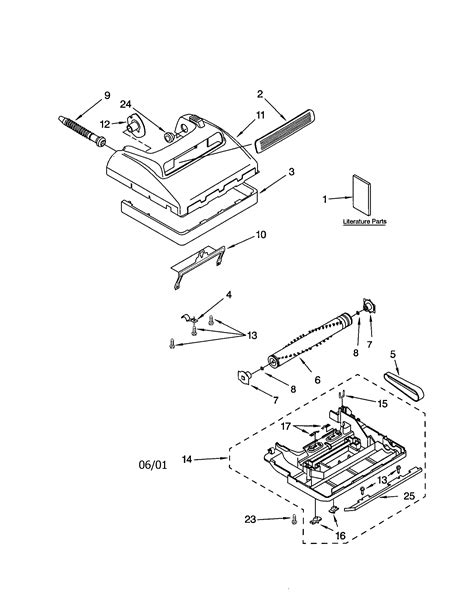 kenmore vacuum model 116 parts diagram kenmore vacuum parts images