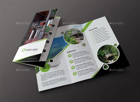 travel brochure template 3 fold 15 well defined travel brochure templates