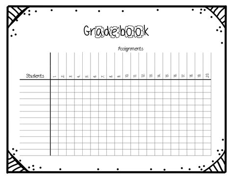 Grade Sheet Template Beautiful Template Design Ideas Grade Sheet Template