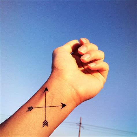 crossed arrows tattoo 17 best ideas about crossed arrow tattoos on