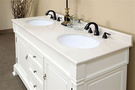 Sink Bathroom Vanities White by Bellaterra Home 205060 D A White Bathroom Vanity Antique