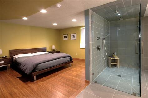 bathroom in bedroom ideas contemporary master suite contemporary bedroom salt lake city by renovation design