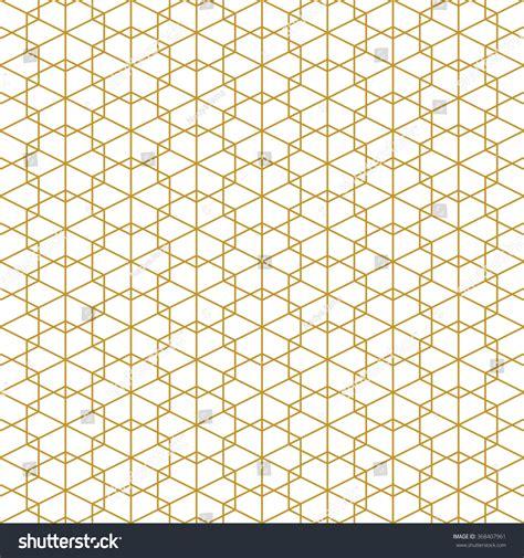 gold geometric pattern wallpaper abstract seamless geometric pattern monochrome white stock