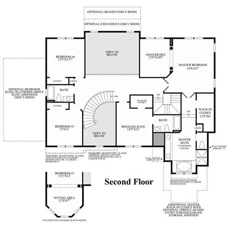enclave floor plans enclave at white oak creek the duncan home design