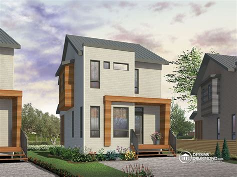Open Concept Floor Plans Bungalow by Micro Maison Communiqu 233 De Presse Dessins Drummond
