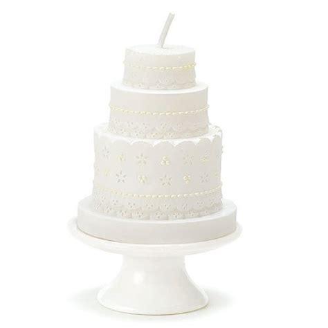 Wedding Cake Candle by Lace Wedding Cake Candle Confetti Co Uk
