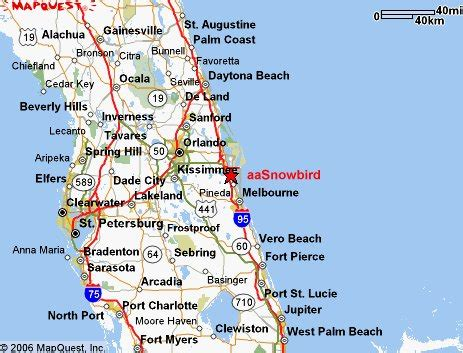 central florida cities map map of florida west coast towns