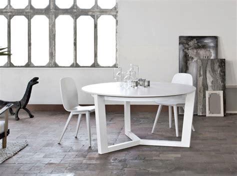 tavoli in vetro rotondi tavoli allungabili rotondi moderni tavolo vetro nero