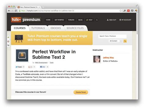 sublime workflow workflow in sublime text free course