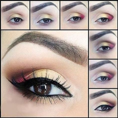 eyeliner tutorial brown eyes makeup looks for brown eyes