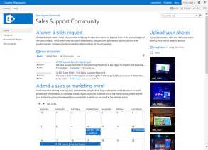 what is a sharepoint 2013 community site