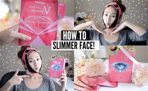 how to get slimmer v shape instantly mask house v fit mask review demo 다이아 마스크