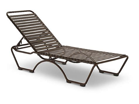 strap chaise lounge chairs kahana strap chaise lounge hom furniture