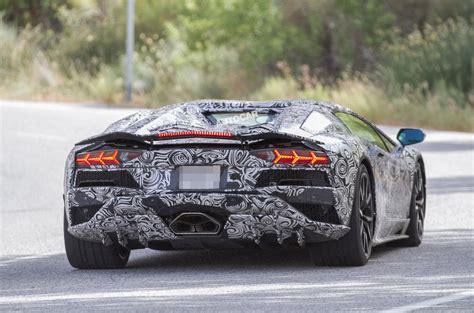 The New Lamborghini Aventador 2017 Lamborghini Aventador To Get More Aggressive Aero