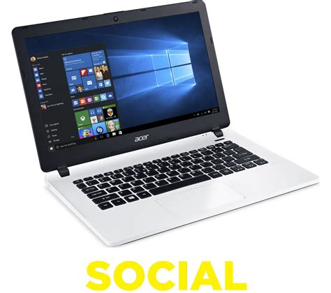 acer aspire laptop acer aspire es1 331 13 3 quot laptop white deals pc world