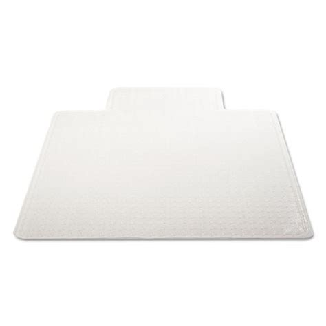 45x53 clear chair mat duramat moderate use chair mat for low pile carpet