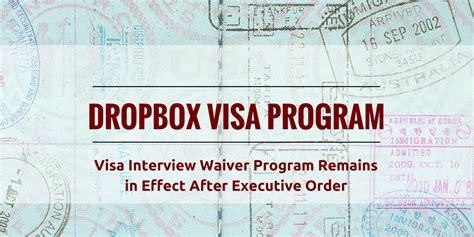 dropbox visa executive order suspends at least parts of the visa
