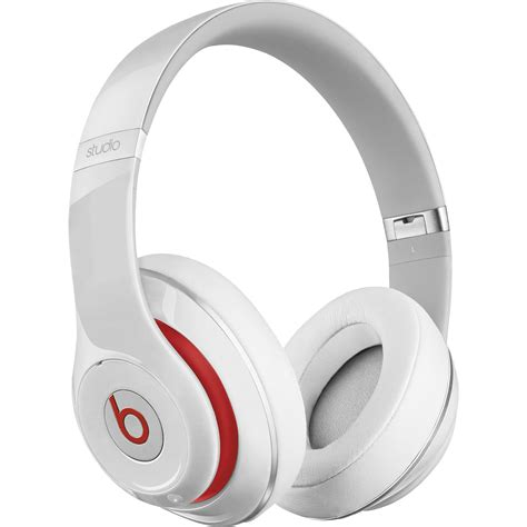 beats by dr dre studio wireless headphones white mh8j2am a