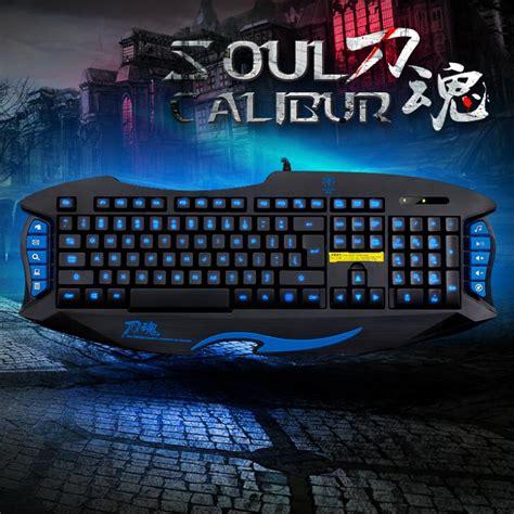 Keyboard Gaming X7 rainbow bird tarantula x7 gaming keyboard led wired usb pc