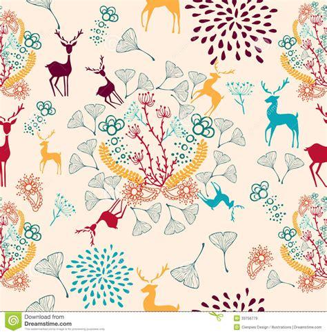 vintage holiday pattern vintage christmas elements seamless pattern backgr royalty