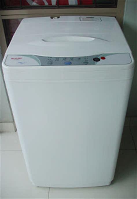 Mesin Cuci Sharp Dolphinwave 10 Kg iklankujualbeli mesin cuci sharp